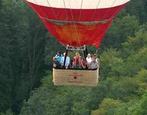Ballonfahrt in Baden-Württemberg
