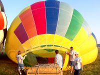 Aufbau eines Ballons